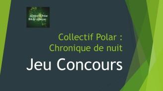Jeu concours Collectif Polar