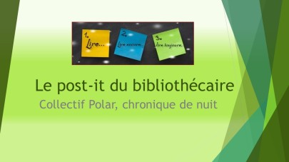 Le post-it du bibliothécaire
