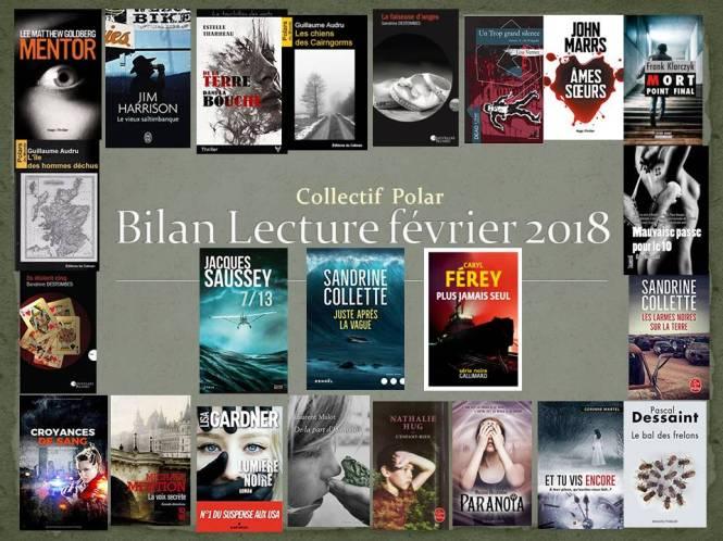 Bilan Lecture février 2018