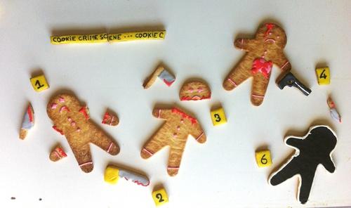 cadavre exquis scène de crime&