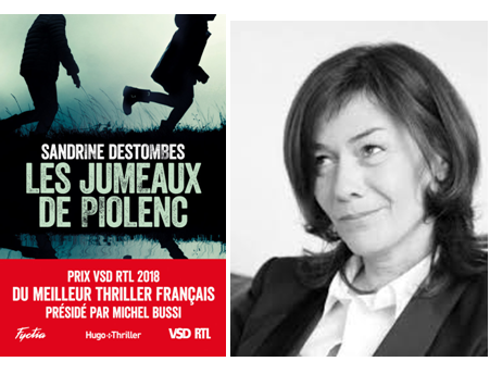Les jumeaux de Piolenc de Sandrine Destombes.
