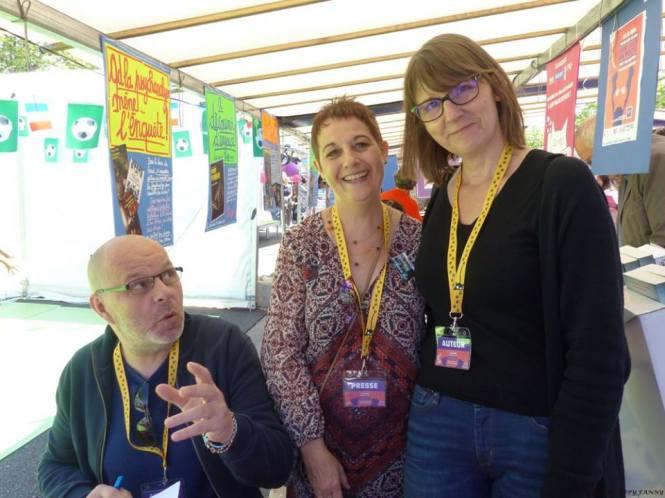 Un SMEP ne commence bien pour moi que s'il commence en leur compagnie. – avec Jérôme Camut Perso et Nathalie Hug.