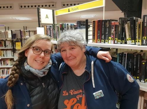 Maud et moi, bibliothèque parmentier polar