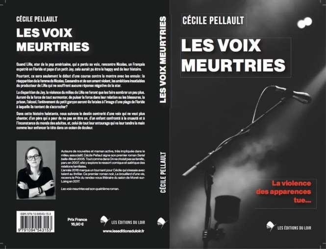 Les voix meurtries resto verso Cécile Pellault
