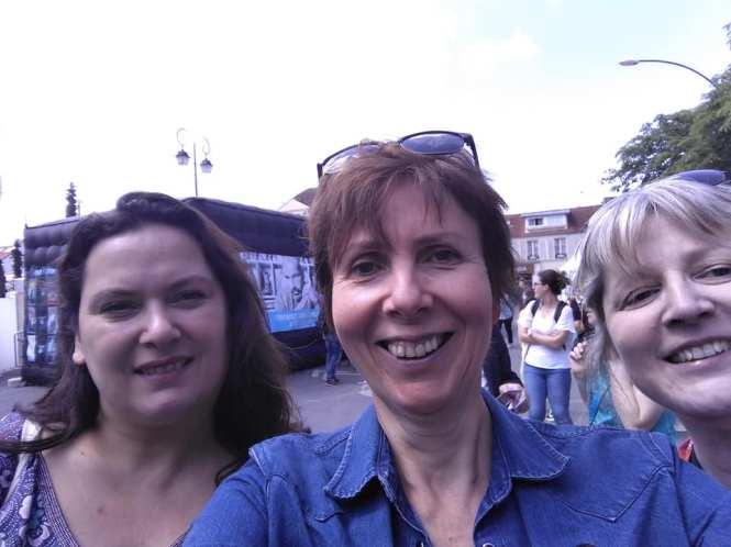 Rencontre de flingueuse : Isabelle Fanny et Aline à SMEP